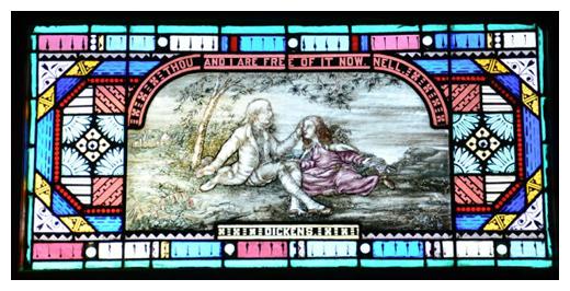 Ladies Library, Kalamazoo, MI - Dickens Window