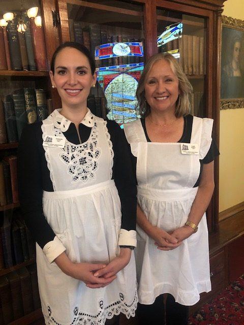 Servers for Downton Abbey Tea - LLA, Kalamazoo, MI